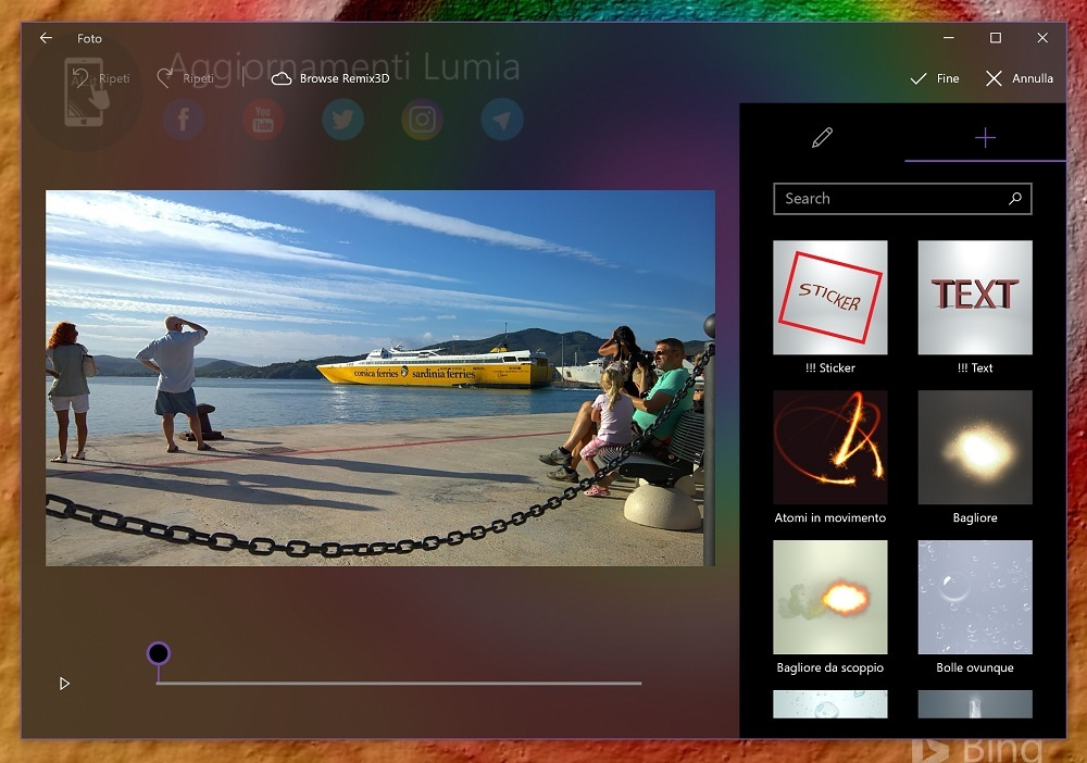 Microsoft's upcoming versatile mobile application will bar photographs straight to your PC over Wi-Fi