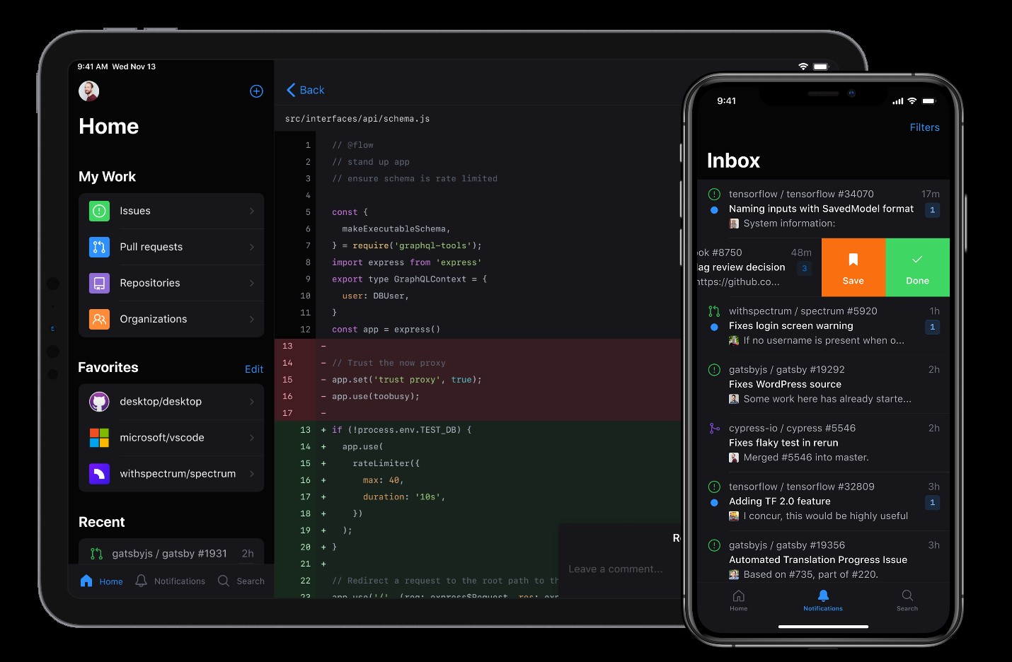 GitHub Launches an App and Tons of New Features