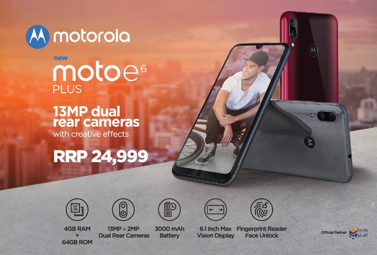Motorola E6 Plus and Motorola One Macro Launched in Pakistan