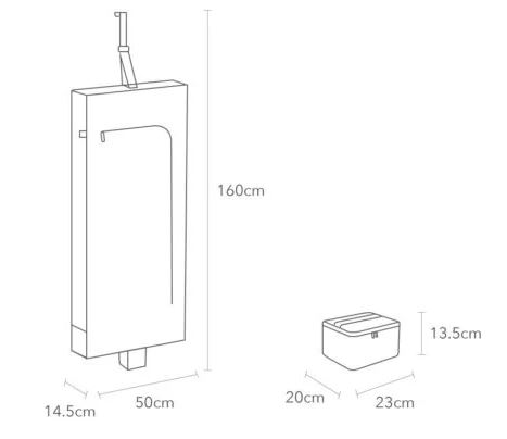 Xiaomi Launches a Portable Clothes Dryer for Businessmen