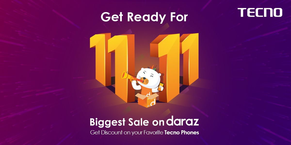 """TECNO COLLABORATION WITH """"DARAZ GYARA GYARA"""" IS OFFERING EXCITING OFFERS"""