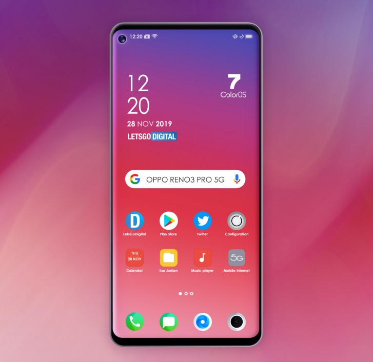 Oppo Reno 3 Will be The Slimmest 5G Smartphone in the World