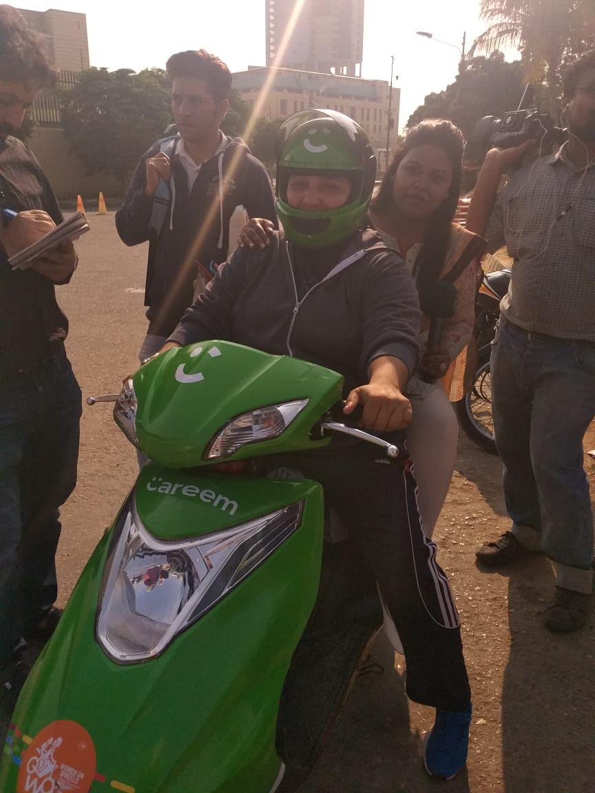 Careem Partners With WOW to Create Jobs For Female Bikers