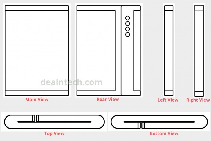 Xiaomi Files a New Patent For its Foldable Smartphone