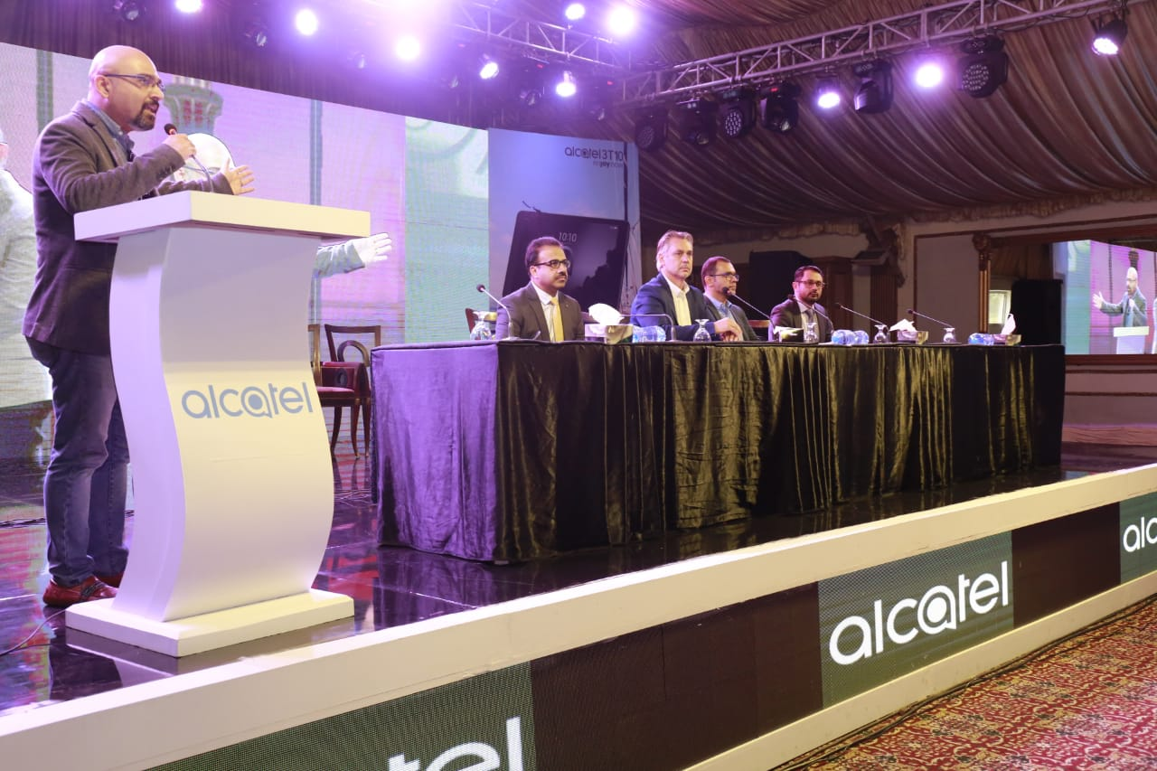 Range of Alcatel Mobile and Tablet Devices Launched in Pakistan