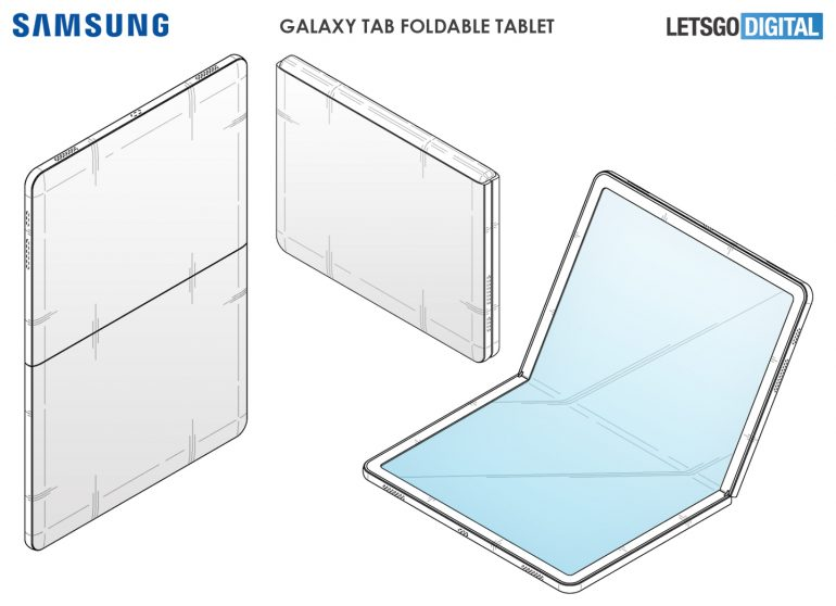 Samsung Starts Working on a Galaxy Tab That Folds Into a Passport