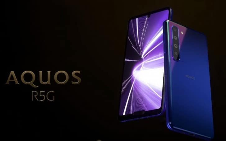 """Sharp Aquos R5G Features a """"Double Notch"""" & Snapdragon 865"""