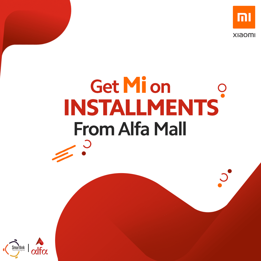 Get Xiaomi Products on Installments From Alfa Mall