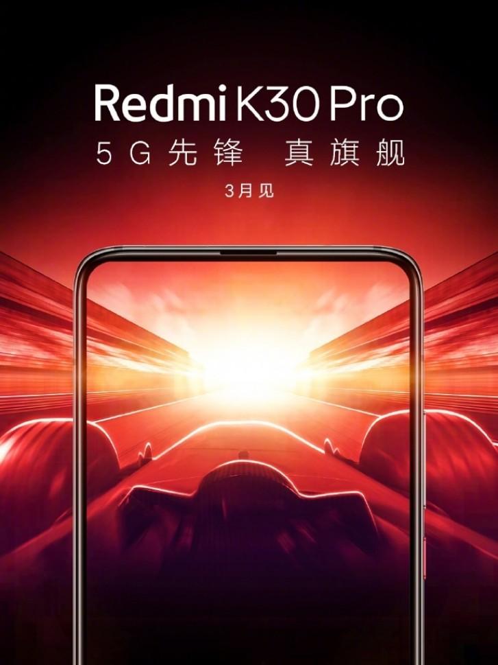 Redmi Confirms K30 Pro 5G's Launch