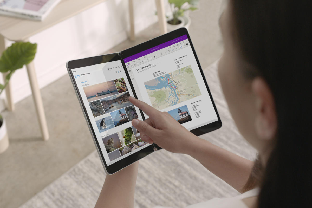 Microsoft Launches Windows 10X for Foldable Devices
