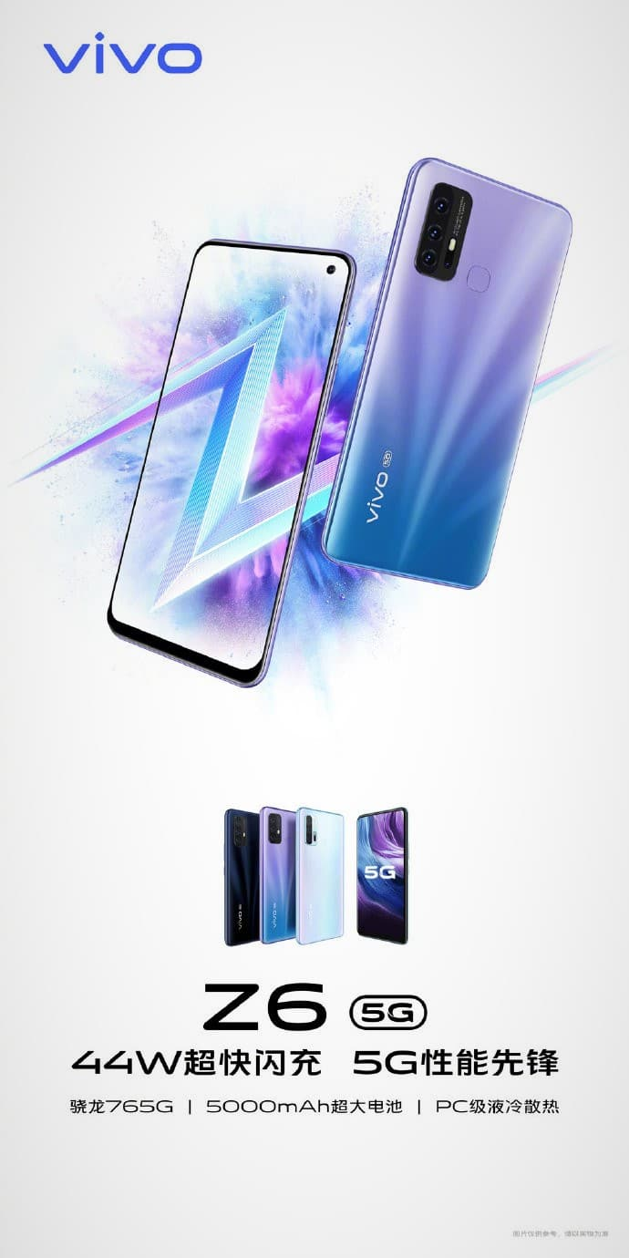 Here's Everything You Need to Know About the Upcoming Vivo Z6