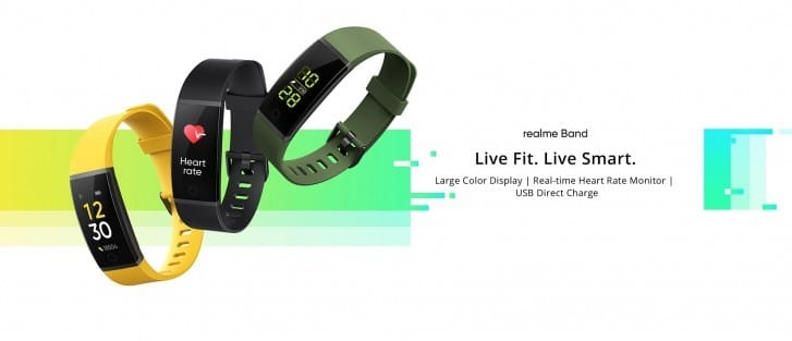 Realme Band Takes on Xiaomi's Mi Band At a Lower Price
