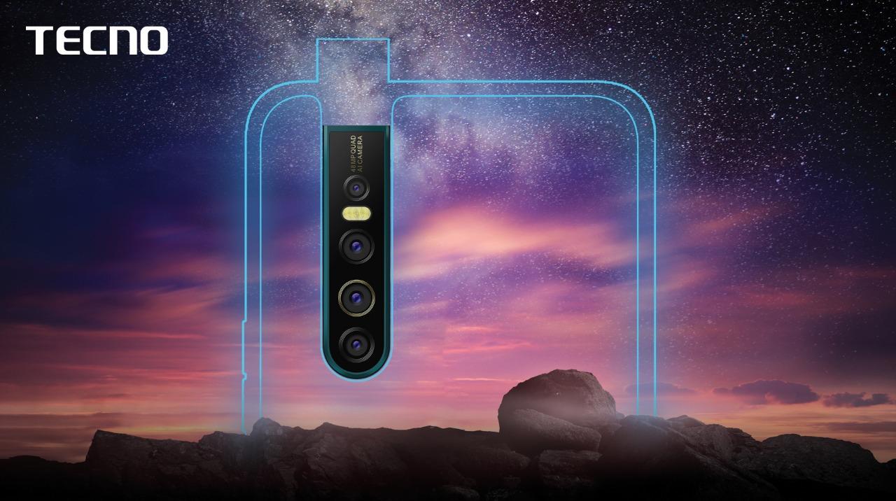 Tecno's Upcoming Smartphone Will Feature a 48MP Camera