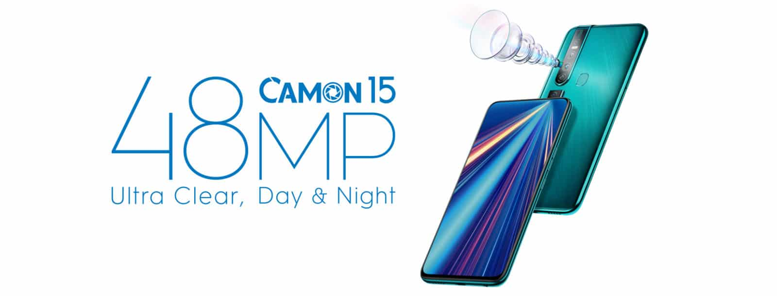 Tecno Reveals its Upcoming Bezel-less Camon 15