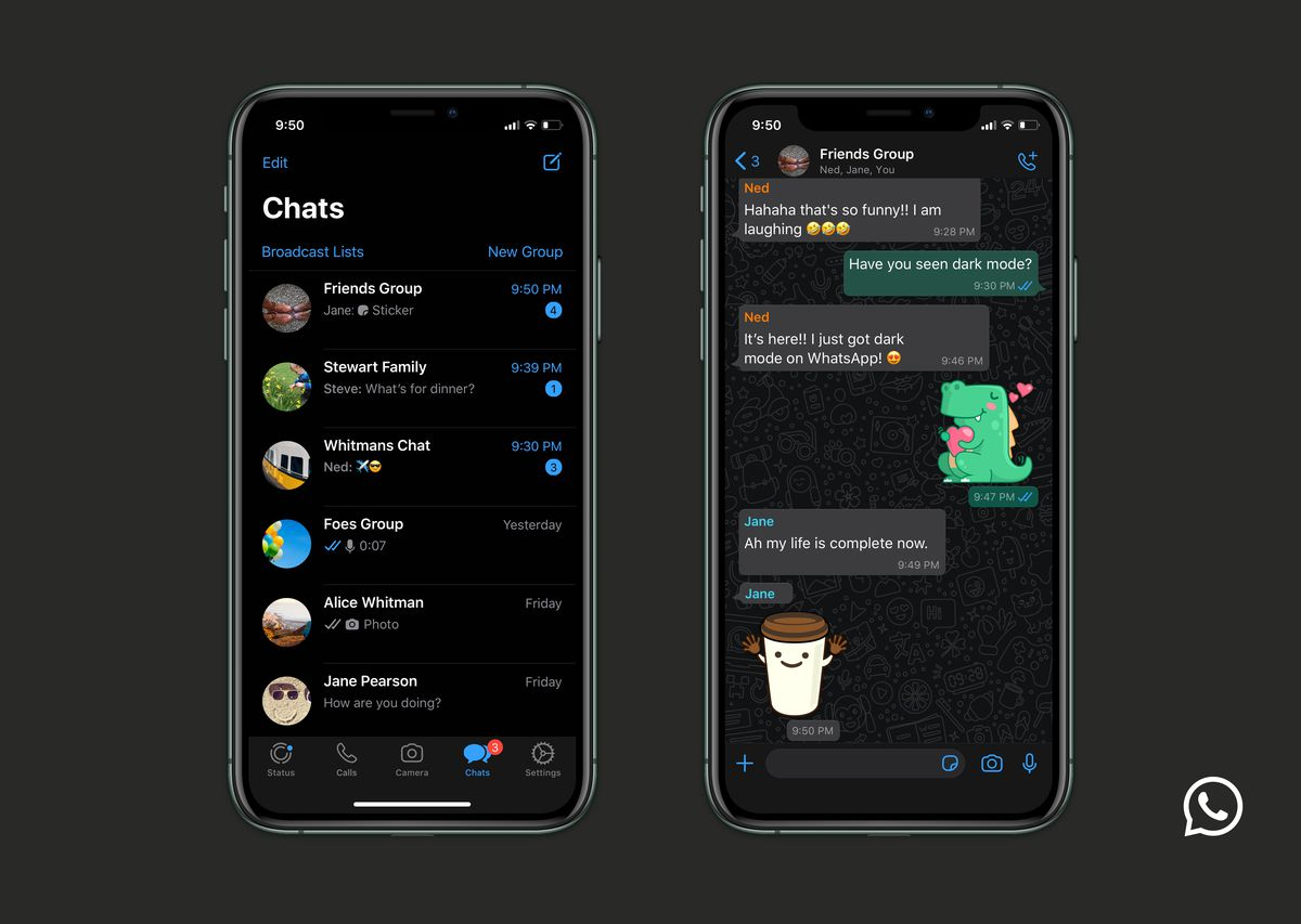WhatsApp Finally Gets Dark Mode on Android in Pakistan