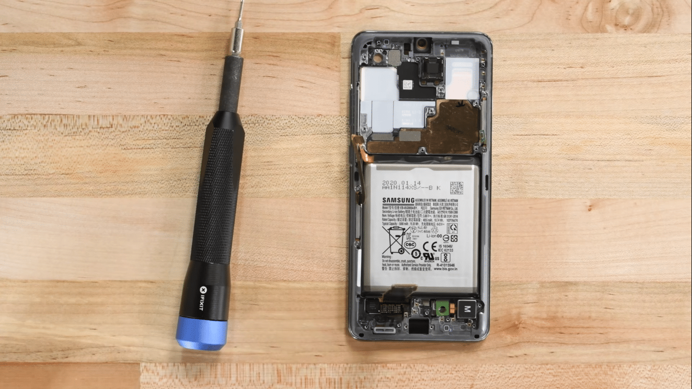 Samsung Galaxy S20 Ultra Teardown Reveals a Beefed Up Note 10+