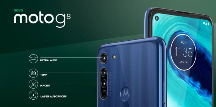 Moto G8 is the Newest Competitor to Redmi Note 8 Pro