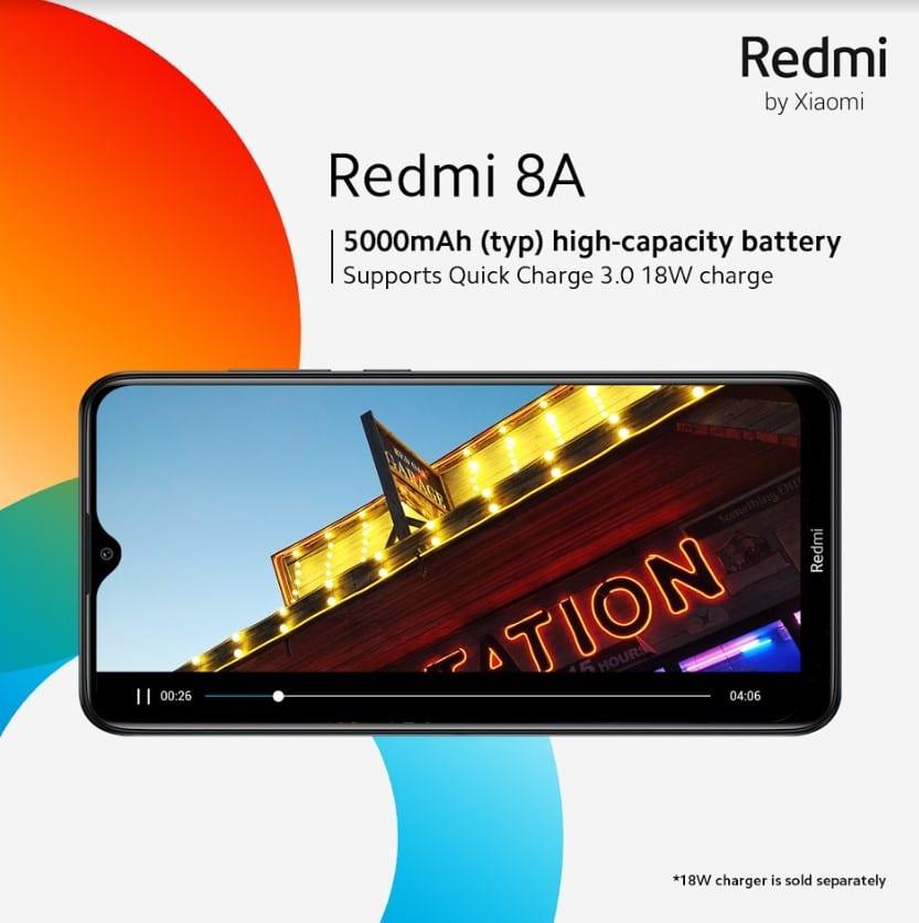 Battery ka Badshah: Xiaomi Relaunches the Redmi 8A in Pakistan