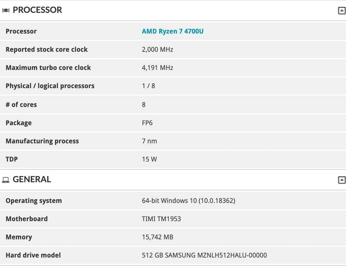 Xiaomi's Upcoming Redmibook Will be a Ryzen Powerhouse [Leak]