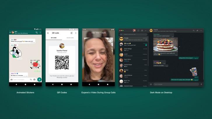 WhatsApp Web Gets Animated Stickers & Dark Mode