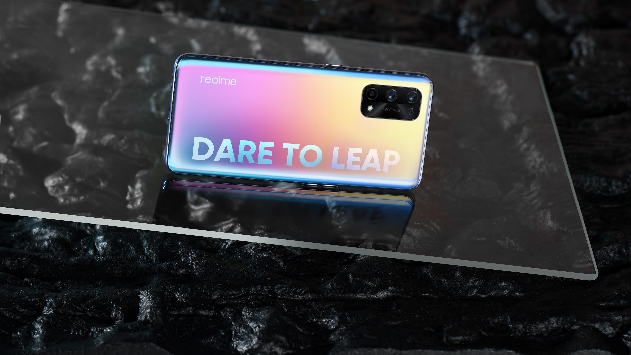 realme will be one of the first smartphone brands to release a flagship equipped with MediaTek's Dimensity 1200, bringing a leap-forward 5G experience