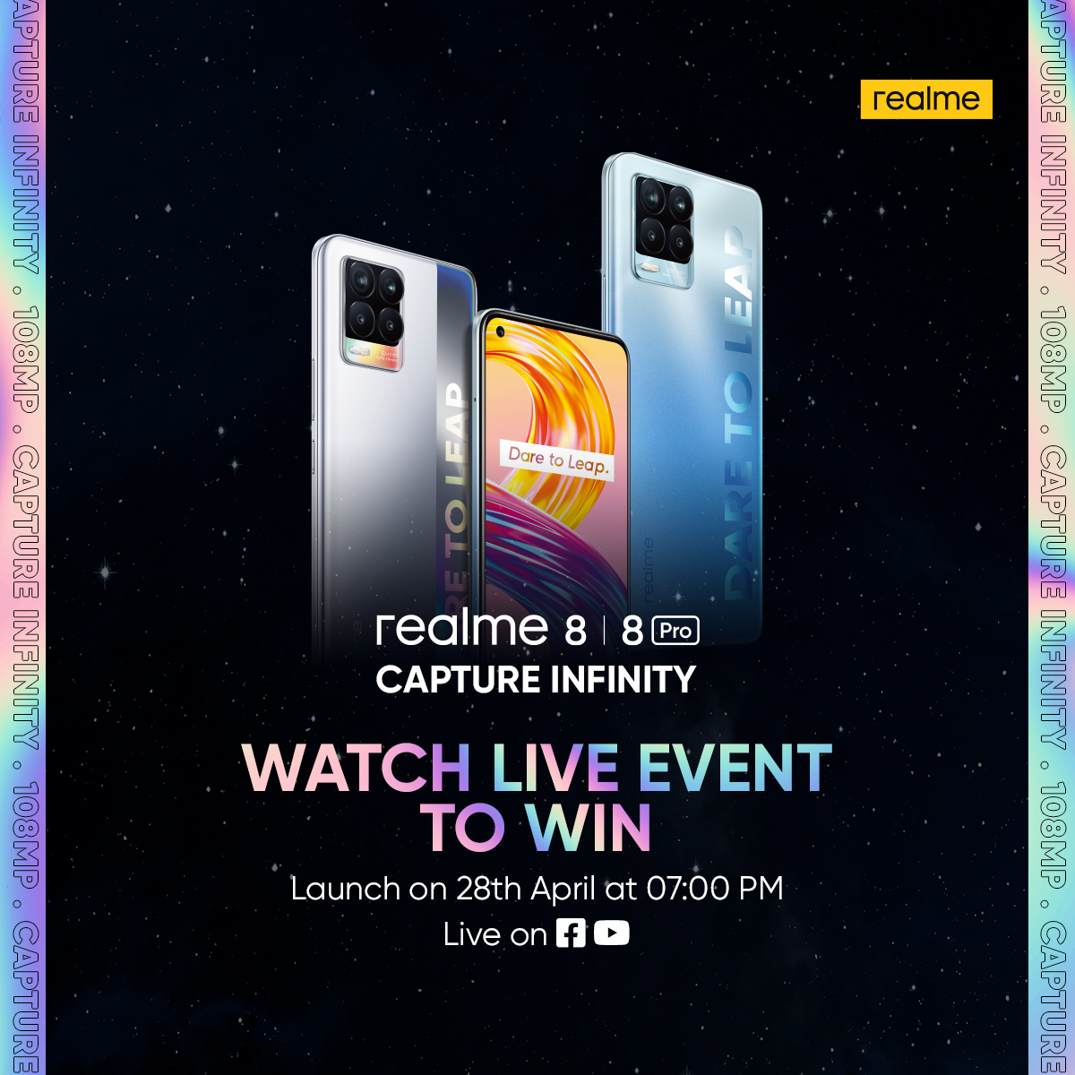 A Favourite with the Experts – the all new realme 8 Series Wins Accolades at the Influencer Roundtable