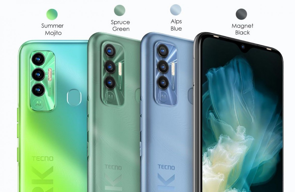 Tecno Spark 7P Launched With 90Hz Display and 5,000 mAh Battery