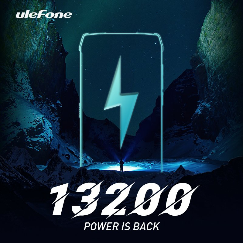 Ulefone's Next Smartphone to Have a 13,200 mAh Battery