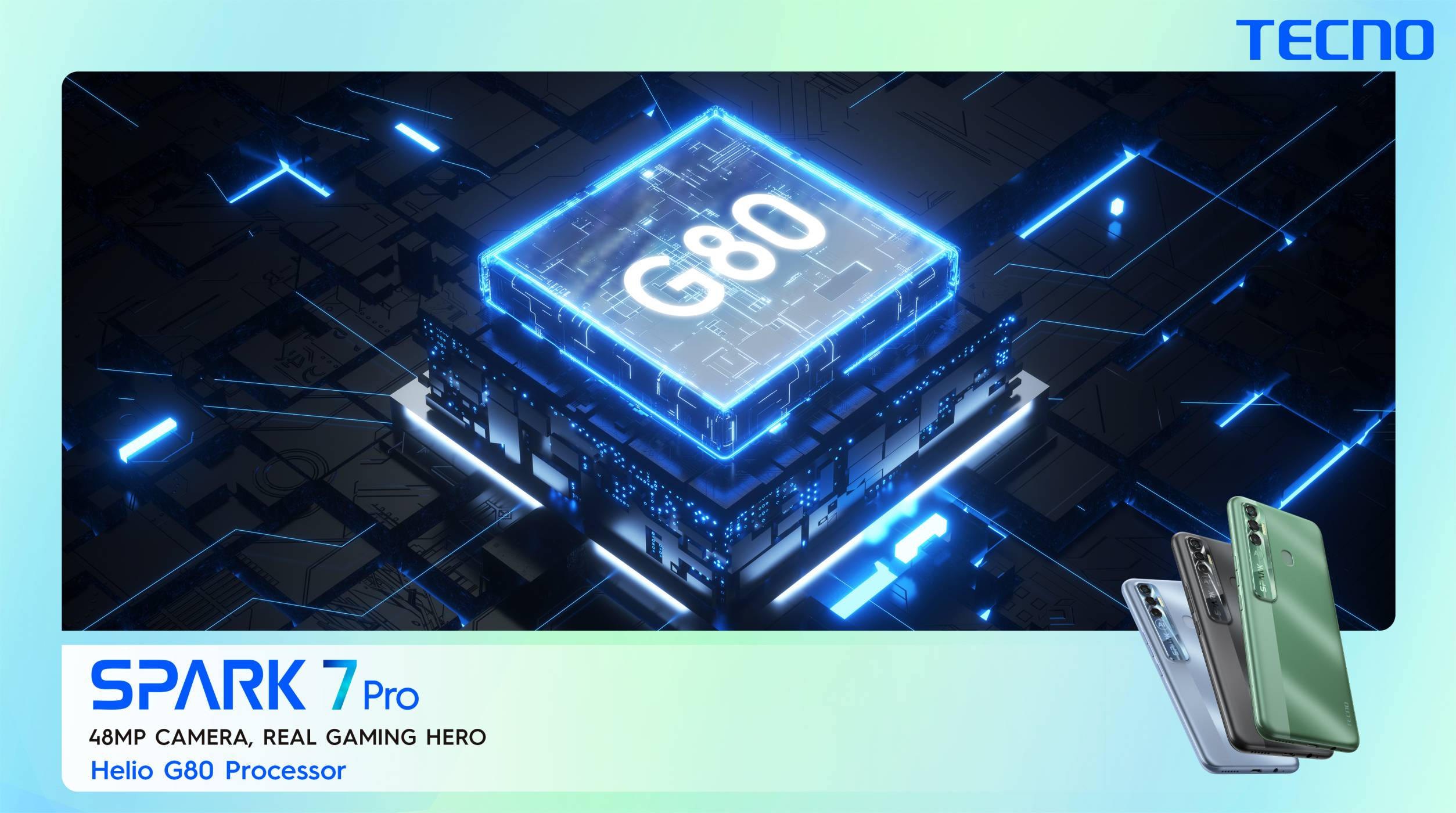 The Gaming King TECNO Spark 7 Pro now available in the Offline market