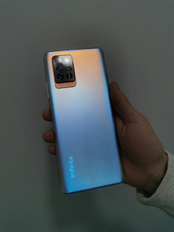 Infinix Note 10 Pro Shows Up in Live Images Resembling a Vivo Phone