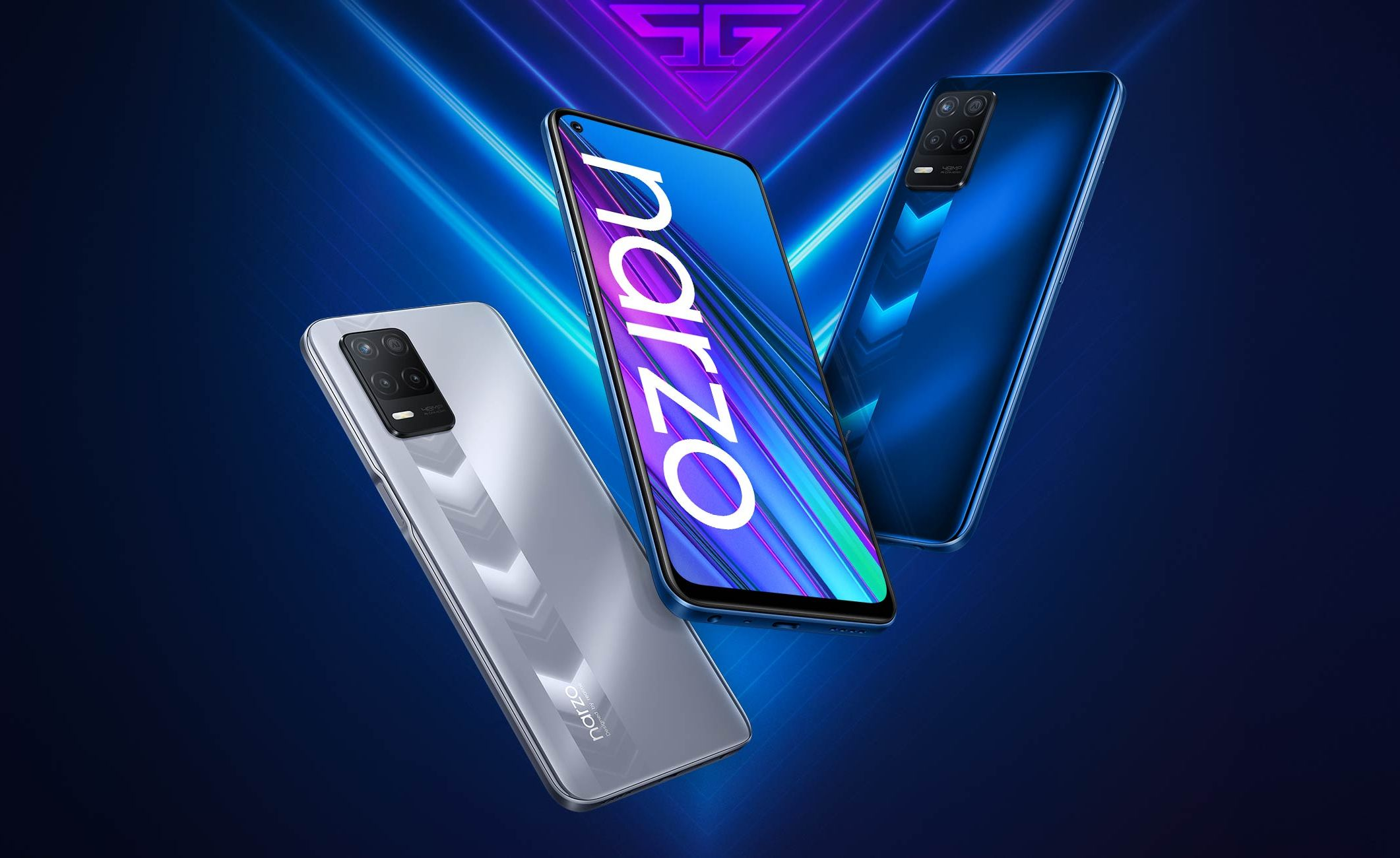 Realme Narzo 30 5G Launched with Dimensity 700 and a New Design