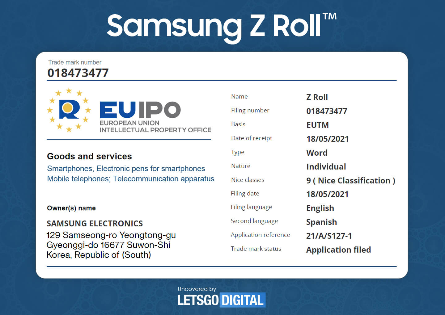 Galaxy Z Roll Could be Samsung's First Rollable Smartphone