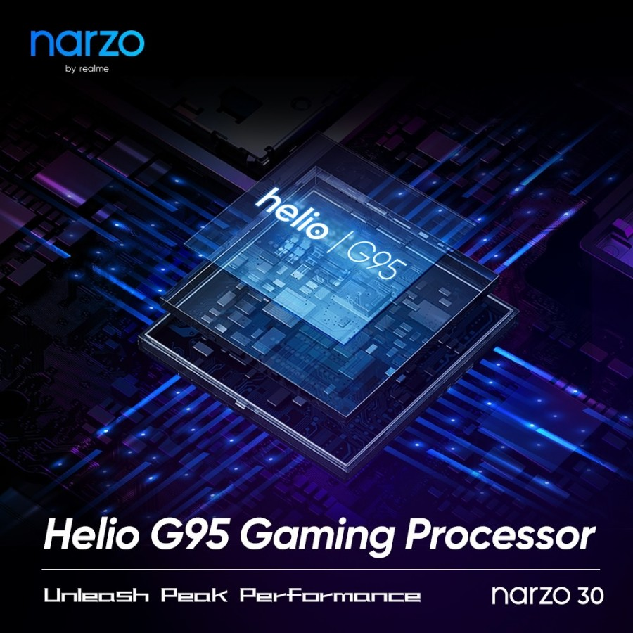 Realme Narzo 30 Launches Next Week With Helio G95 and Triple Cameras