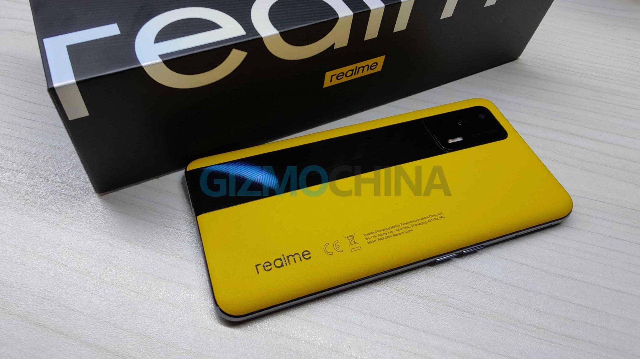 Realme GT 5G Global Version Leaked