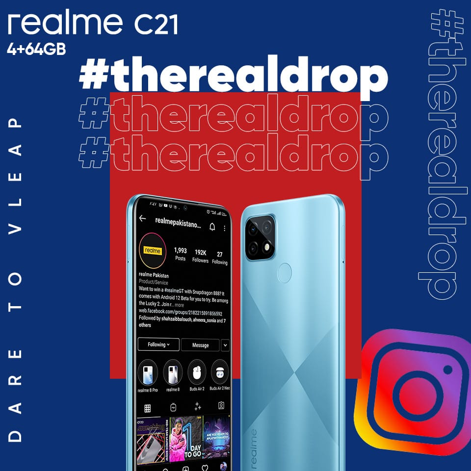 The Perfect Phone in Your Budget; realme C21 is Now Available for PKR 19,999/-