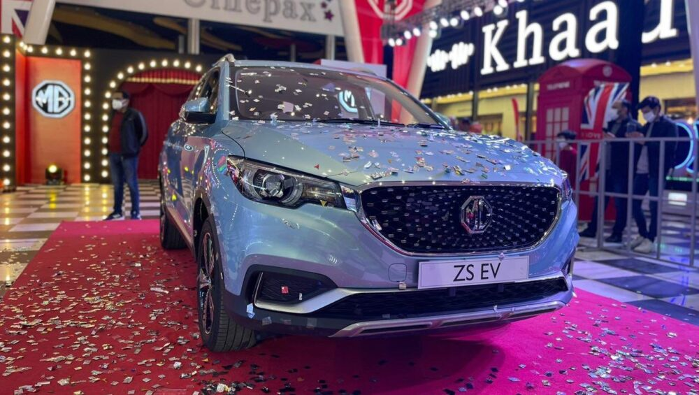 MG Officially Reveals ZS EV Features and Specs for Pakistani Market