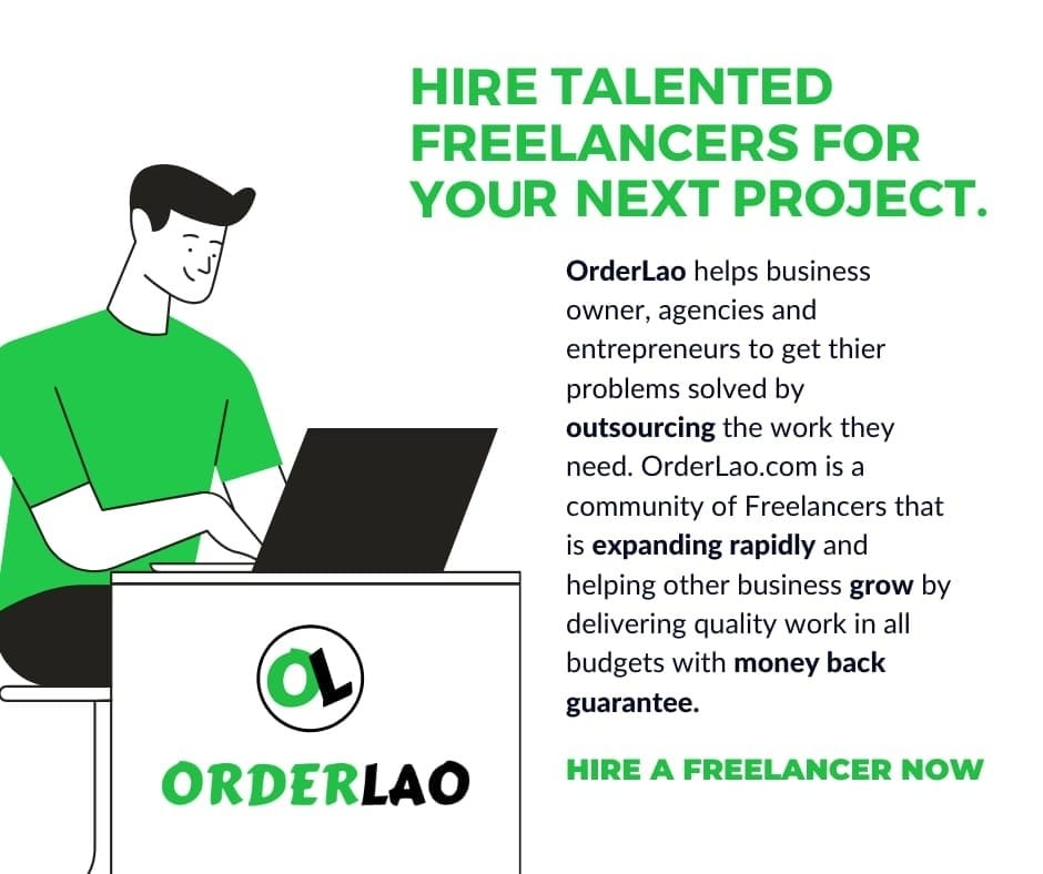 Good News for Freelancers & Businesses: Pakistan's First Freelance Marketplace, Orderlao.com, is Live Now.