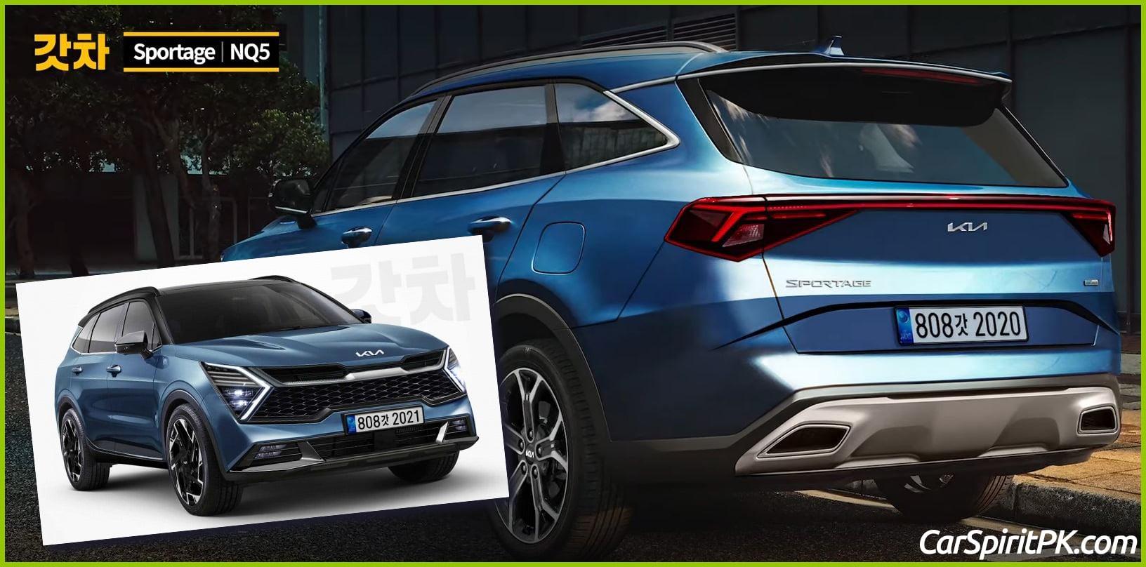 Kia Teases the All-New Next Generation Sportage SUV