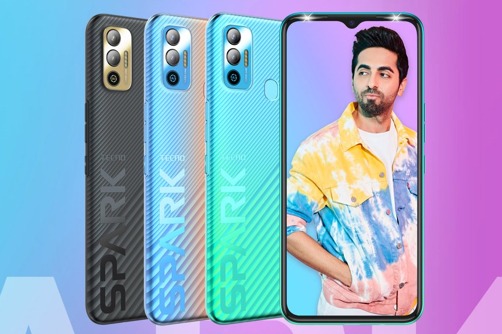 Tecno Spark 7T Launched With 6,000 mAh Battery for $123