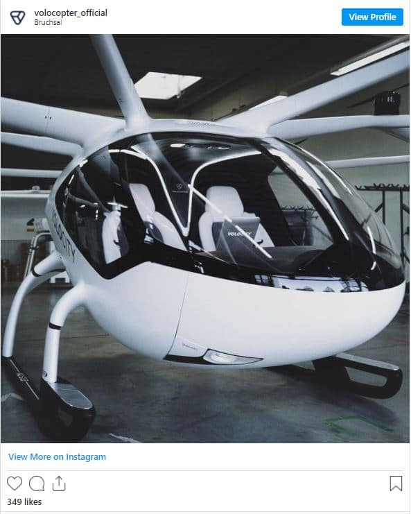 Germany's Air-Taxi Takes its First Test Flight