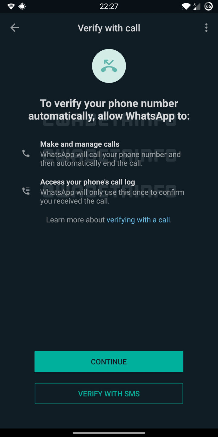 WhatsApp Will Use A New Method to Verify Accounts