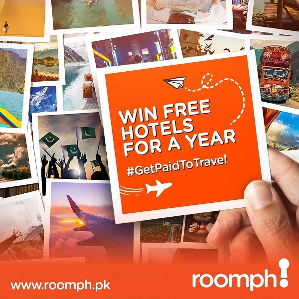 This Year, #GetPaidtoTravel with Roomph!