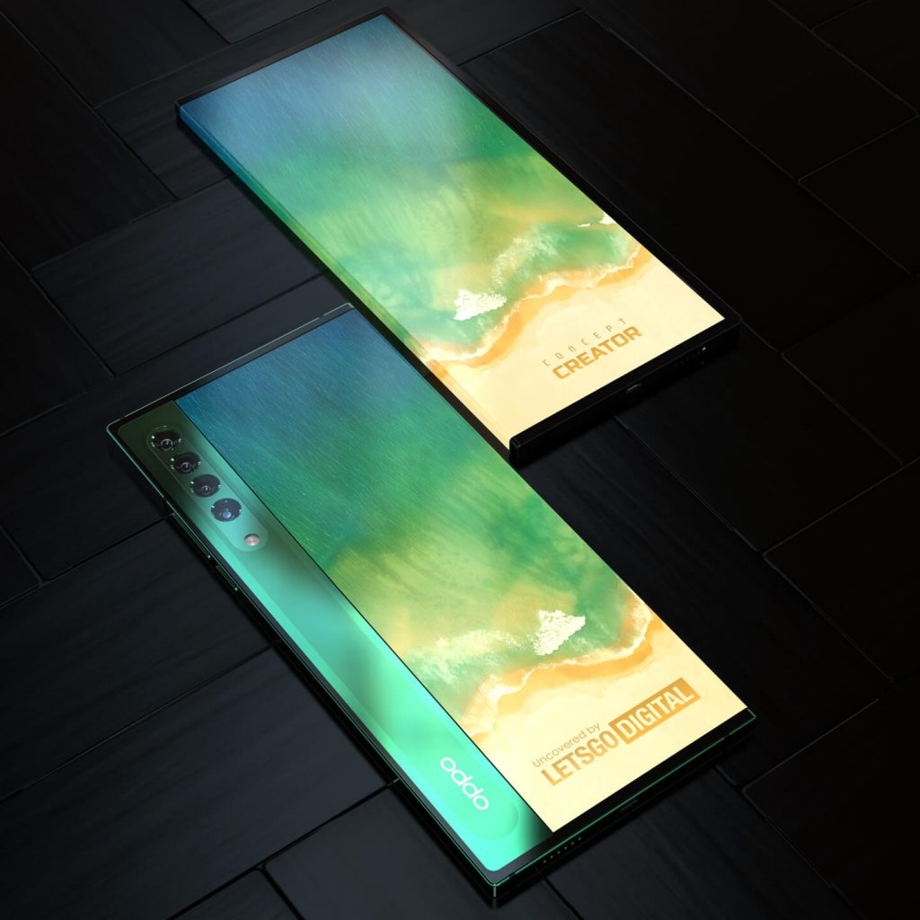 Oppo Patents a Dual Sided Phone With a Wraparound Display