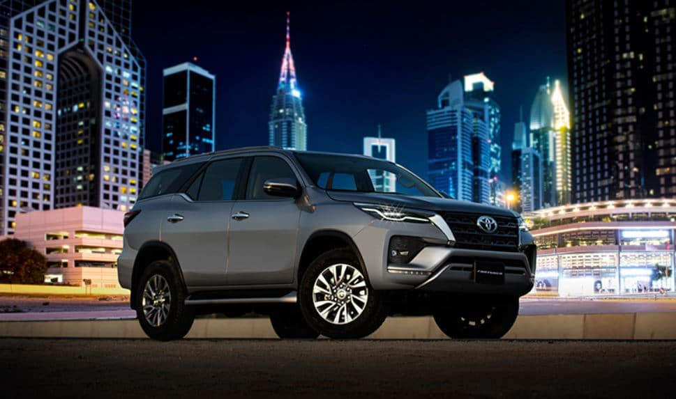 All You Need to Know: Toyota Fortuner Facelift Launched in Pakistan