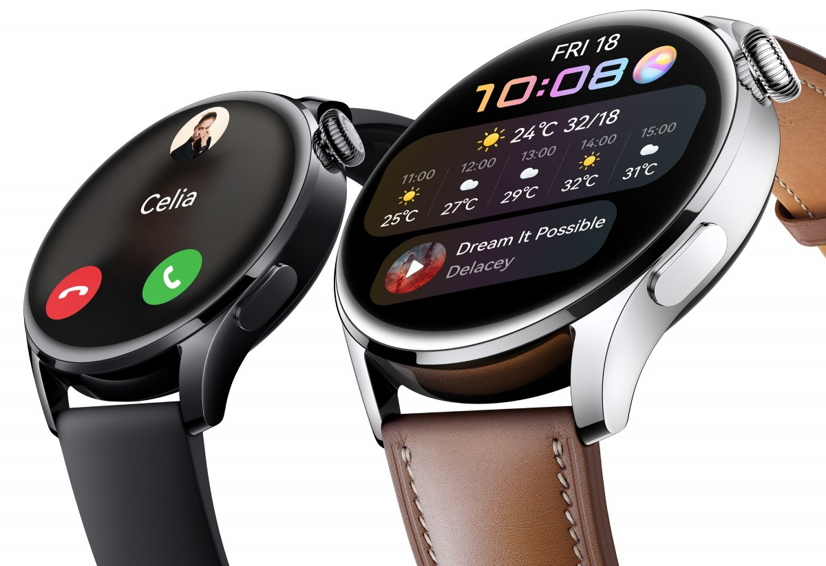 Huawei Watch 3 Announced With Harmony OS and 7-Day Battery Life