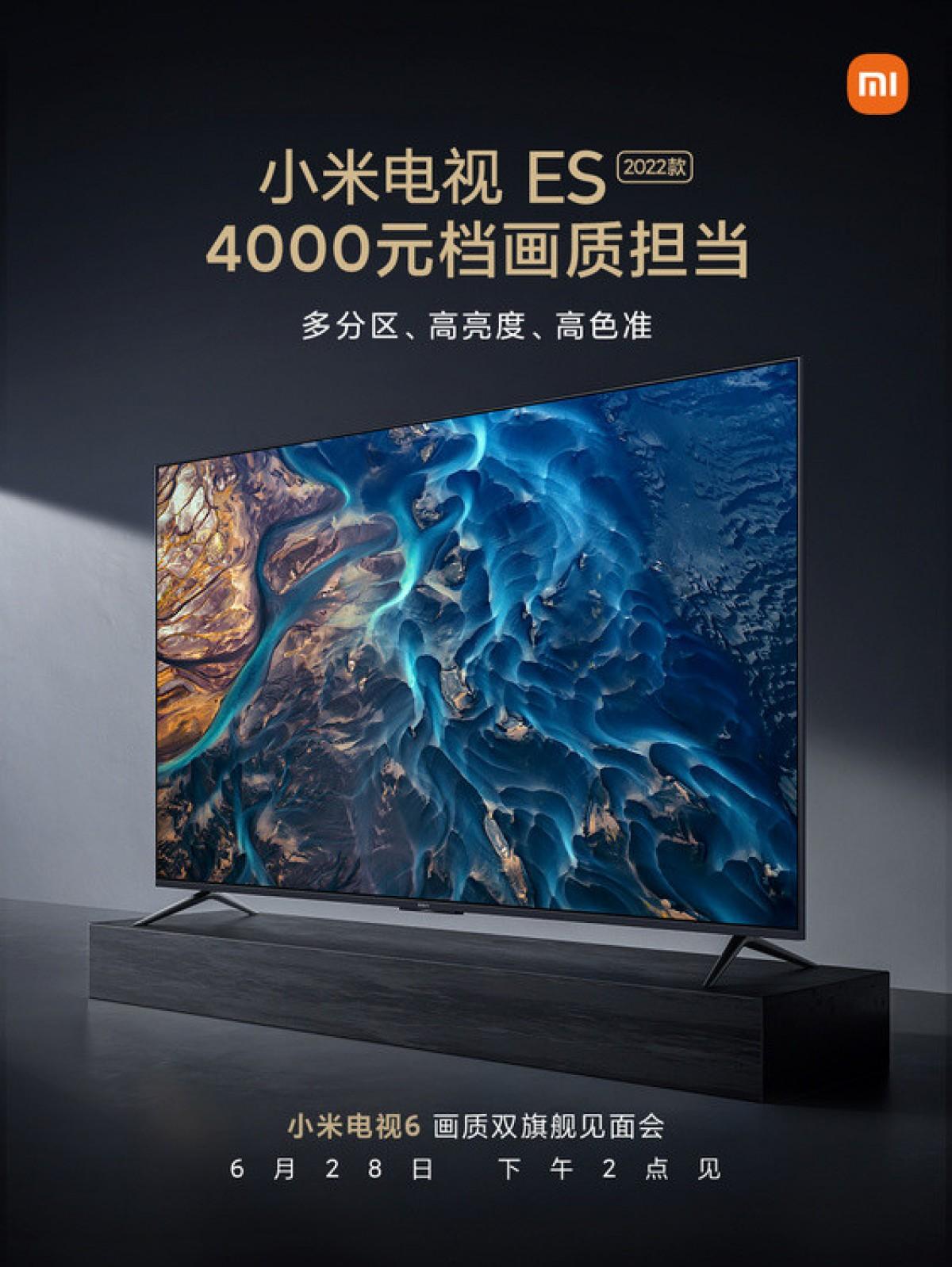 Xiaomi Mi TV ES 2022 Price and Specs Revealed in Teaser