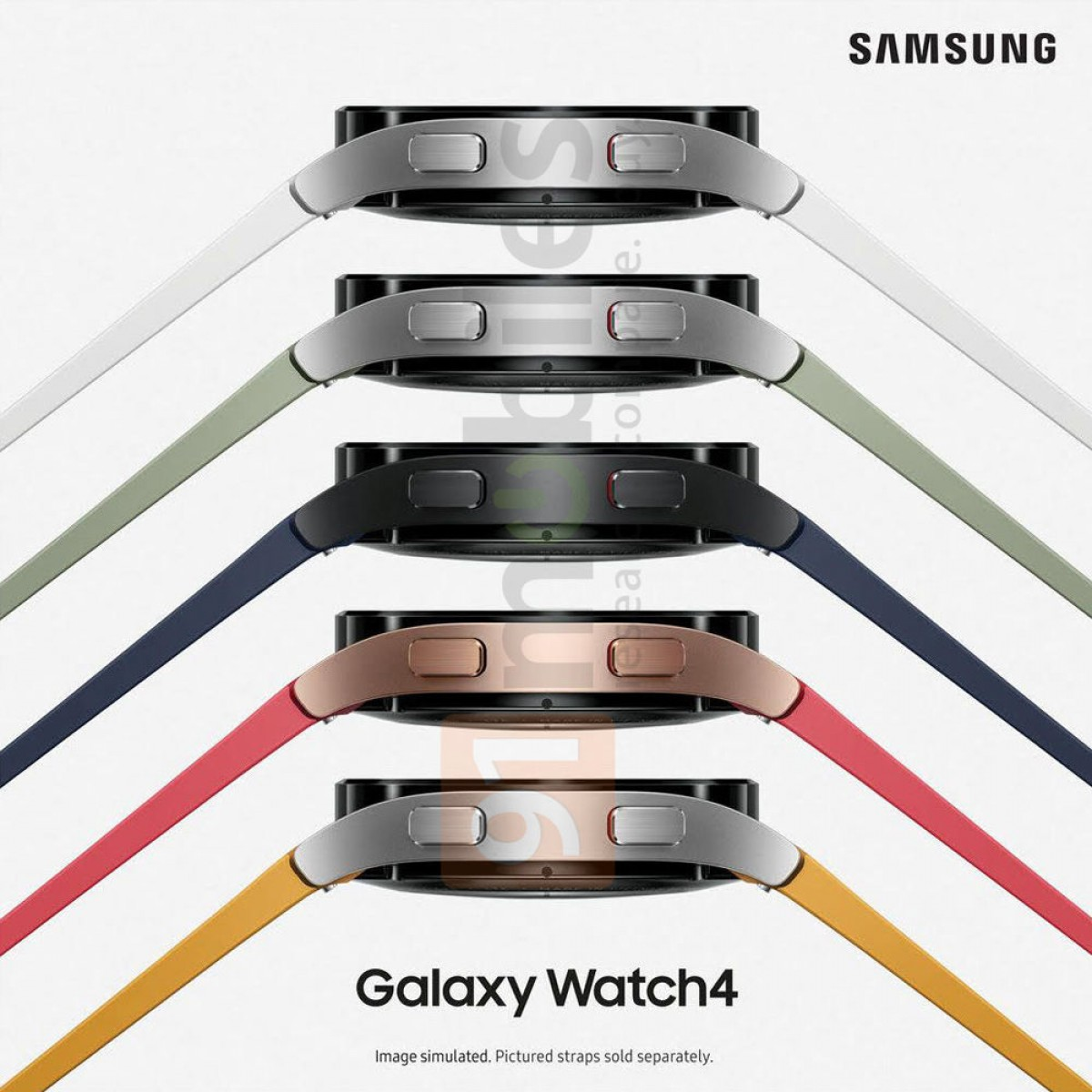 Samsung Galaxy Watch 4 Official Renders Leaked