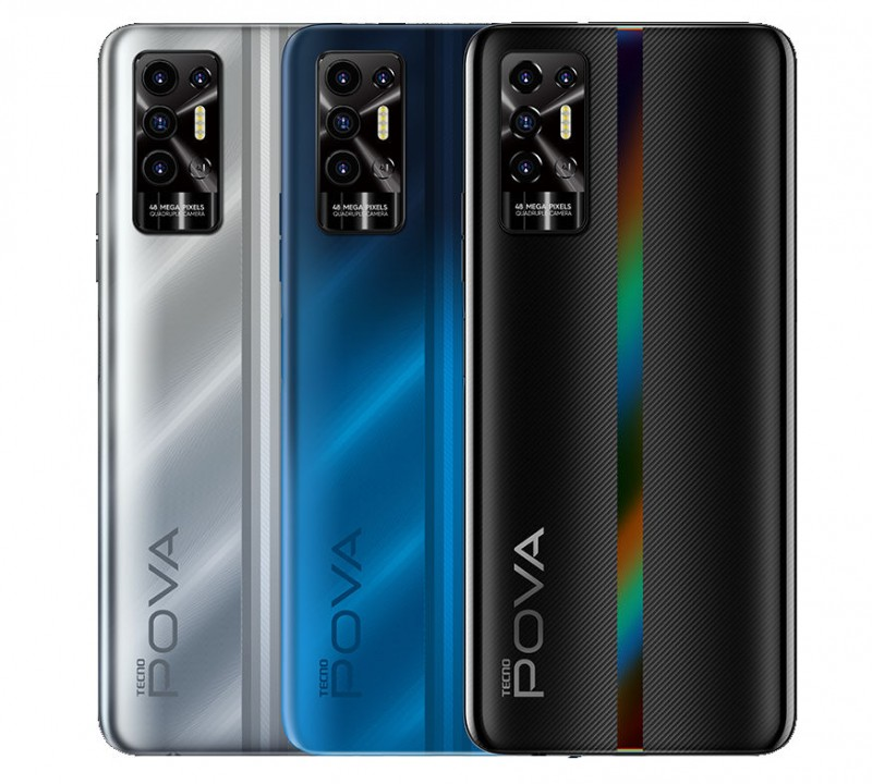 Tecno Pova 2 Gaming Phone Announced With Huge 7,000 mAh Battery