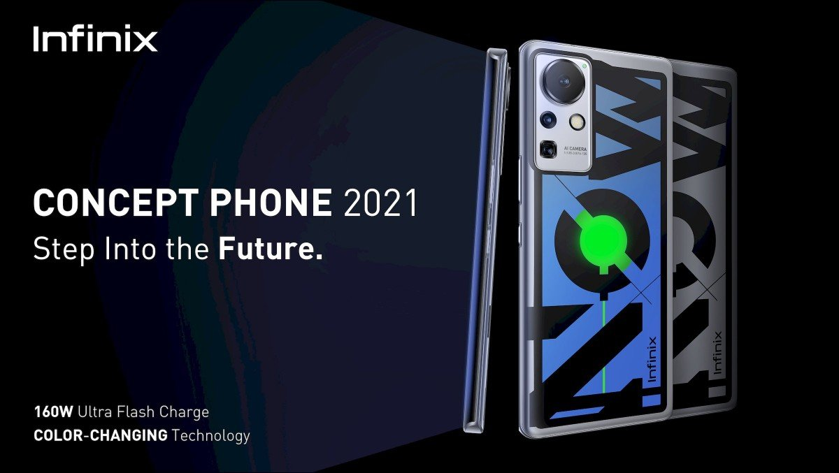 Infinix Concept Phone 2021 Can Charge Fully in Just 10 Minutes