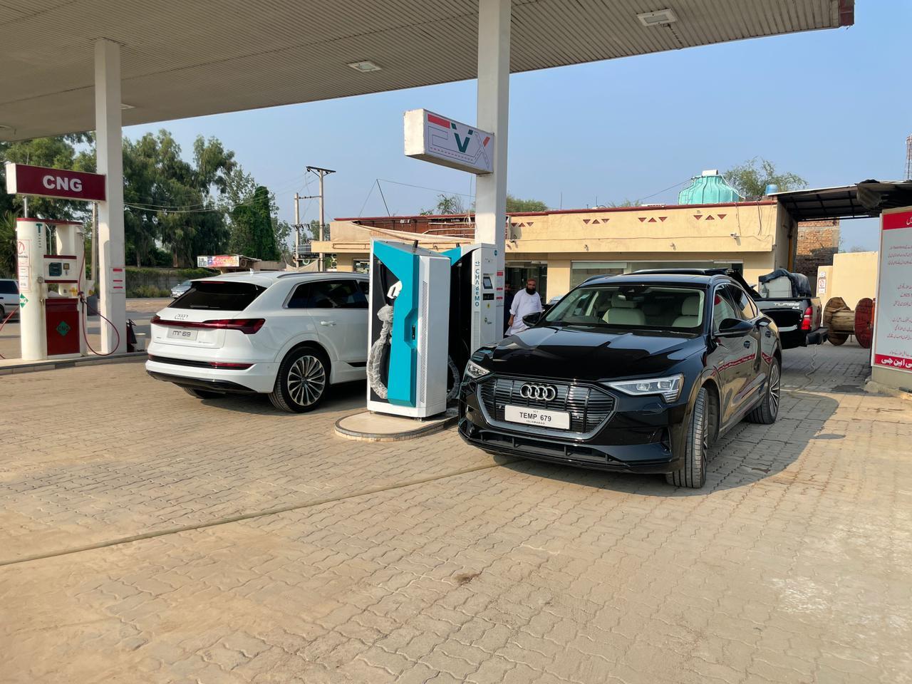 Two EV Charging Stations Inaugurated Alongside M-2 Motorway